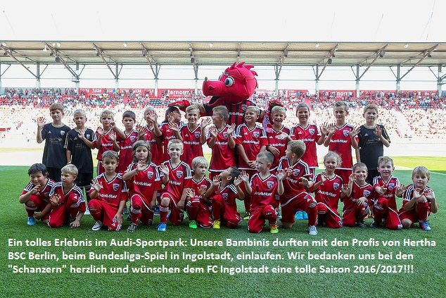 Einlaufkids FC Ingolstadt
